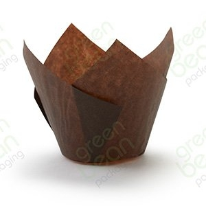Muffin Paper P60 Brown 175 (55gsm)