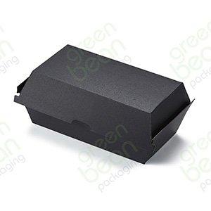 Black Large Snack Box